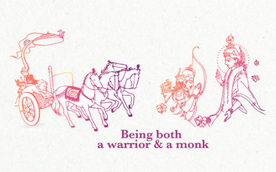 Being both a warrior and a monk